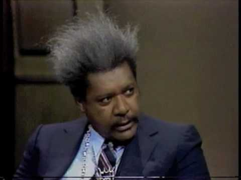 Don King on Late Night, April 6, 1982