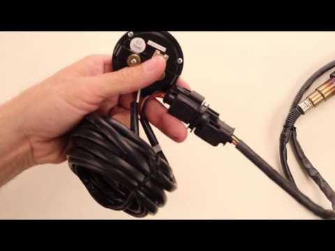 AEM Electronics Digital Wideband UEGO AFR Gauge PN 30-0300 Unboxing