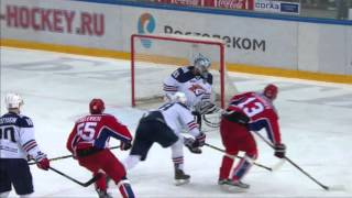 Lyubimov tallies his 4th of play-offs, makes CSKA lead by 1