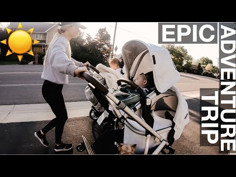 The triplet&39;s longest most EPIC stroller adventure trip