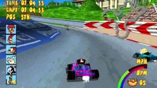 Play Game   Woody WoodPecker Racing PS1
