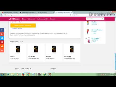 how to LG firmware download free
