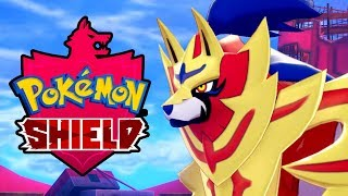 POKEMON SHIELD Zamazenta Legendary Pokemon Battle & Capture Gameplay [Switch 1080p]