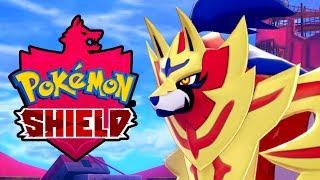POKEMON SHIELD Zamazenta Legendary Pokemon Battle & Capture Gameplay [Switch 1080p]