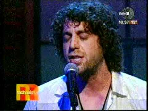 Elliott Yamin-Wait for you live-Rachael Ray show