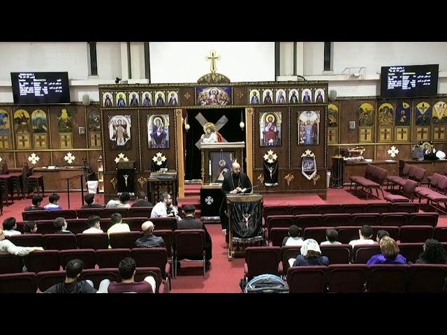 2019 Holy Week - Thursday Eve sermon