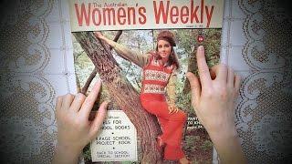 Whisper Vintage 1970 Women's Magazine ~ Fascinating ASMR show n tell(, 2017-05-17T19:30:00.000Z)
