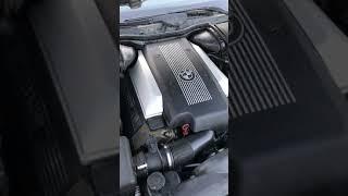 Работа ДВС V8 M62TU после сборки и удаления катализаторов