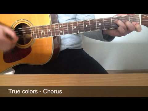 True Colors - Guitar Lesson