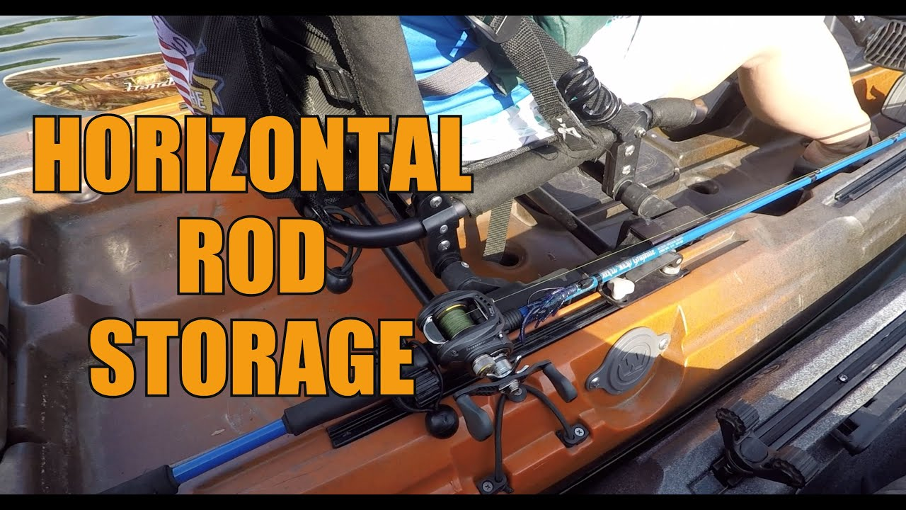 Horizontal Rod Storage Kayak Fishing Just The Tip