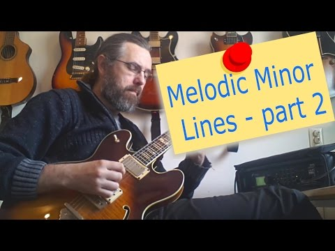 Melodic Minor Lines part 2