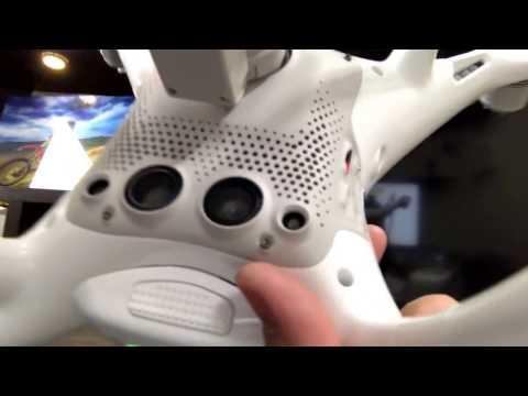 DJI Phantom Downward Vision Sensor Calibration Error