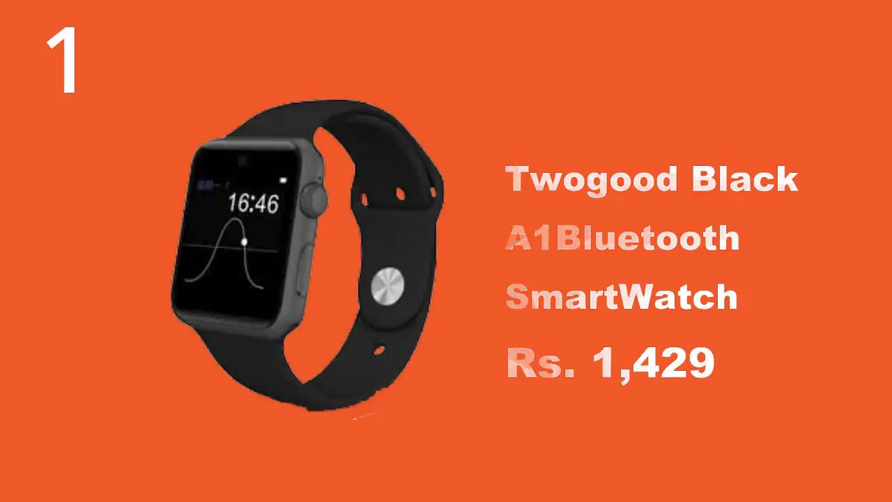 45076c83f04 Top 10 Smart watches Under 2000 in India - YouTube
