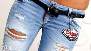 видео Женские модные джинсы весна-лето 2015 года