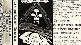 Grim Reaper - Loser In Love - For Demonstration Only (Demo) - 1982