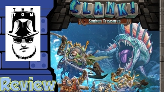 Clank!: Sunken Treasures Review - with Tom Vasel