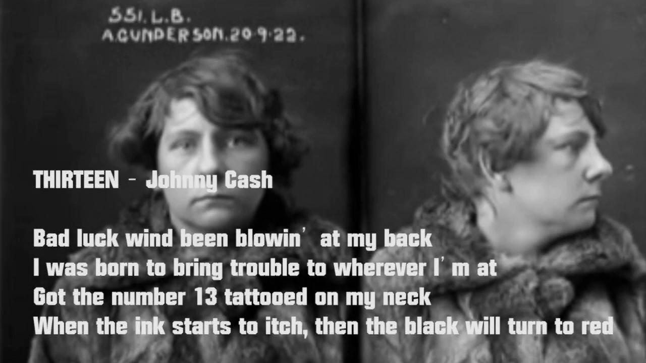 Luc Van Den Bergh.13 Johnny Cash By Luc Van Den Bergh Youtube