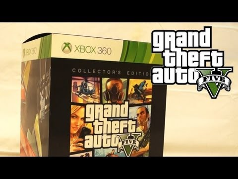 GTA 5 - Collector's Edition Unboxing! (GTA V)