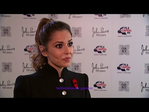 Cheryl Fernandez-Versini - [HD] Turning on Oxford Street Christmas Lights