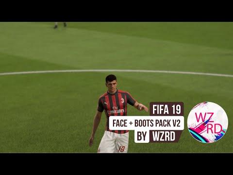 WZRDs FIFA 19 FACE+BOOTPACK v3.5