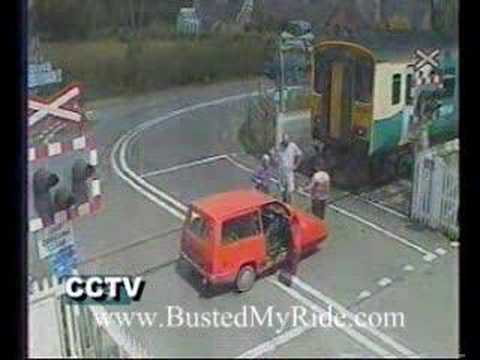 Mini Car Vs Train
