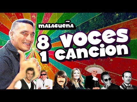 Malagueña - Tapon imitando - 8 voces 1 canción