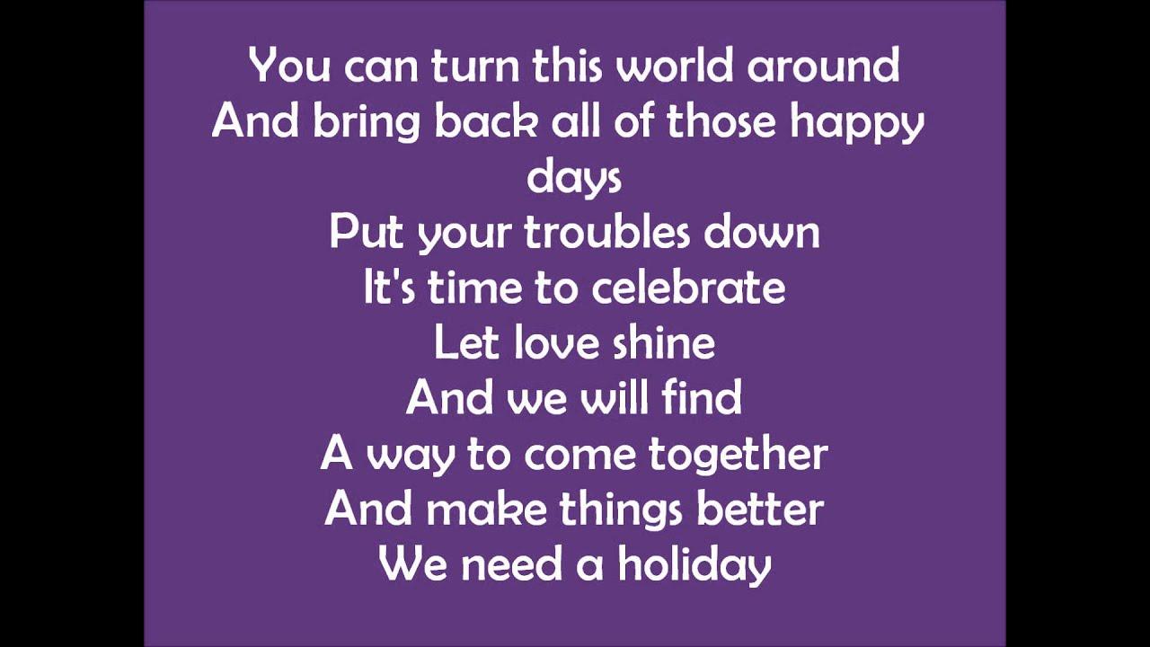 madonna lyrics