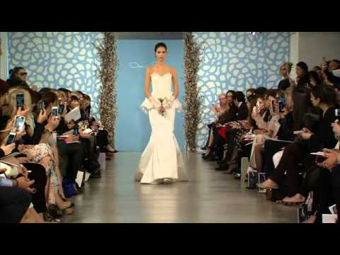 Défilé de robes de mariée Oscar de la Renta 2014