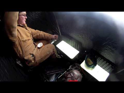 2013 Lake St.Clair Ice Fishing - GoPro HD