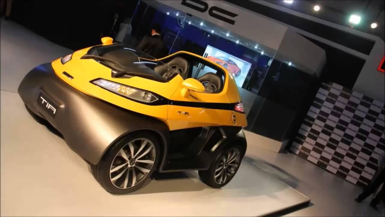 Dc Design Unveils Tia Live At Auto Expo 2014 2016 Launch Plan