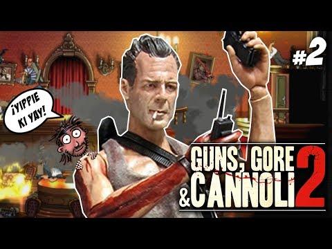 ¡JUGAMOS CON JOHN MCCLANE! :O   GUNS, GORE AND CANNOLI 2 #2   Gameplay Español   Let's Play
