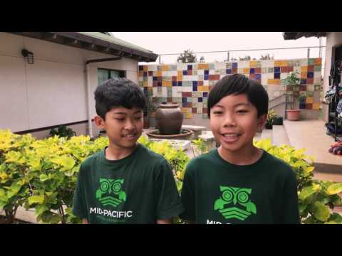 Elementary School - What do you love about Mid-Pacific?