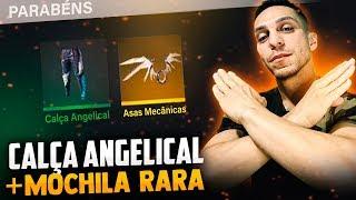 🔥 FREE FIRE - AO VIVO  🔥 SALA PERSONALIZADA🔥CALÇA ANGELICAL + MOCHILA RARA 🔥|JEFÃO