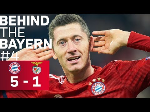 EXCLUSIVE: Champions League vs. Benfica 5-1 | Behind the Bayern #4