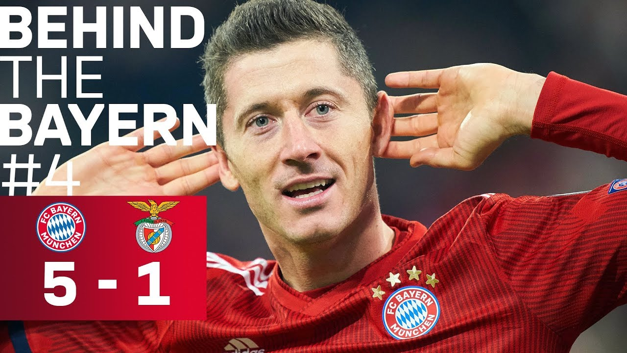 Download EXCLUSIVE: Champions League vs. Benfica 5-1 | Behind the Bayern #4