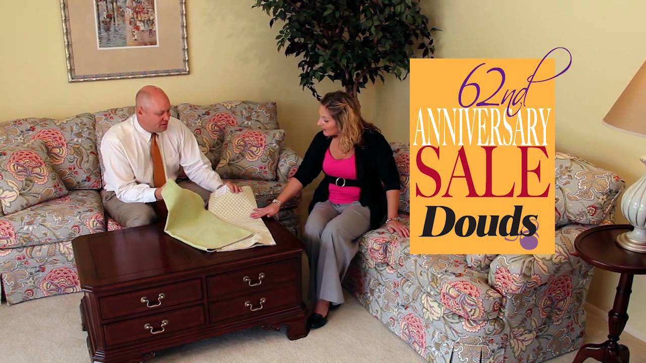 Douds Furniture 62nd Anniversary Sale Commercial