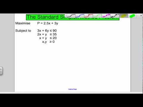 Simplex Algorithm - Decision 1 OCR