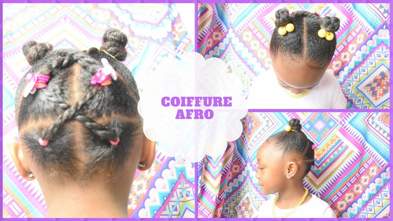 Idee Coiffure Afro Fille Youtube