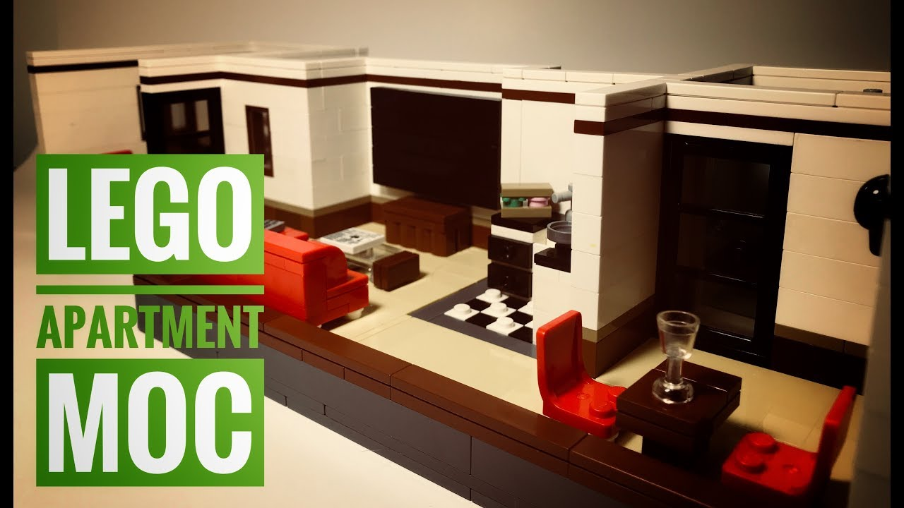 Lego City Apartment Moc