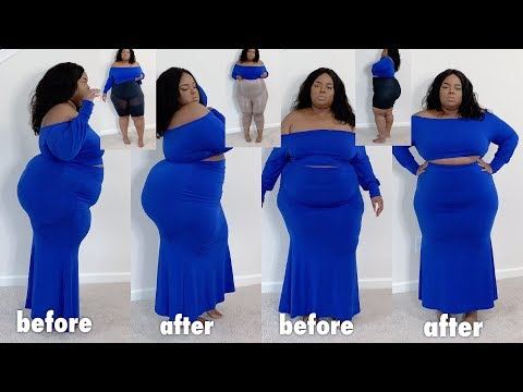 Spanx Shapewear Try-On Haul | ft. Poshmark | Undetectable , Good For 2pc Sets! Plus Size