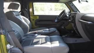 Fort Bragg Lemon Lot - 2007 Jeep Wrangler X 2Dr Green w Black top 6 Speed Manual - Fort Bragg