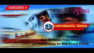Chithirayil Yenna Varum   3D Effect  Song with Lyrics - Sivappathigaram (2006)
