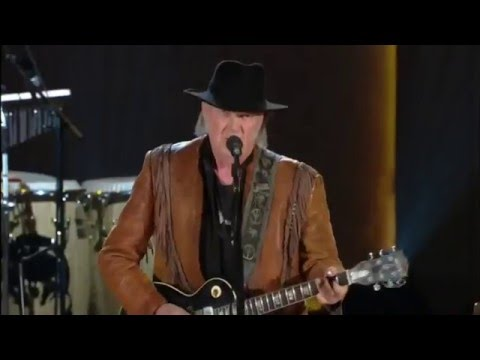 """Neil Young and the Promise of the Real sing """"Whiskey River"""" live November 19, 2015. in HD. 1080p"""