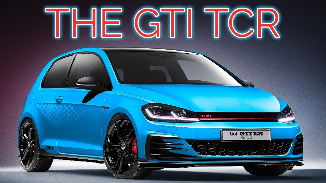 Race Car For The Street Vw Golf Gti Tcr Specs Details Interior Exterior Youtube