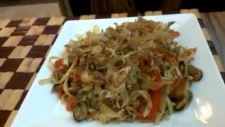 Салат который ест людей