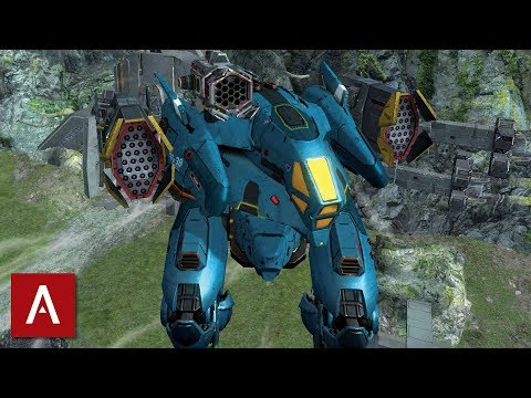 War Robots: HOVER Orkan Pinata Gameplay on Valley | MAX LEVEL