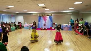 Cham cham song dance performance  at Reema's babyshower