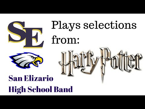 Selections from Harry Potter San Elizario High School Band