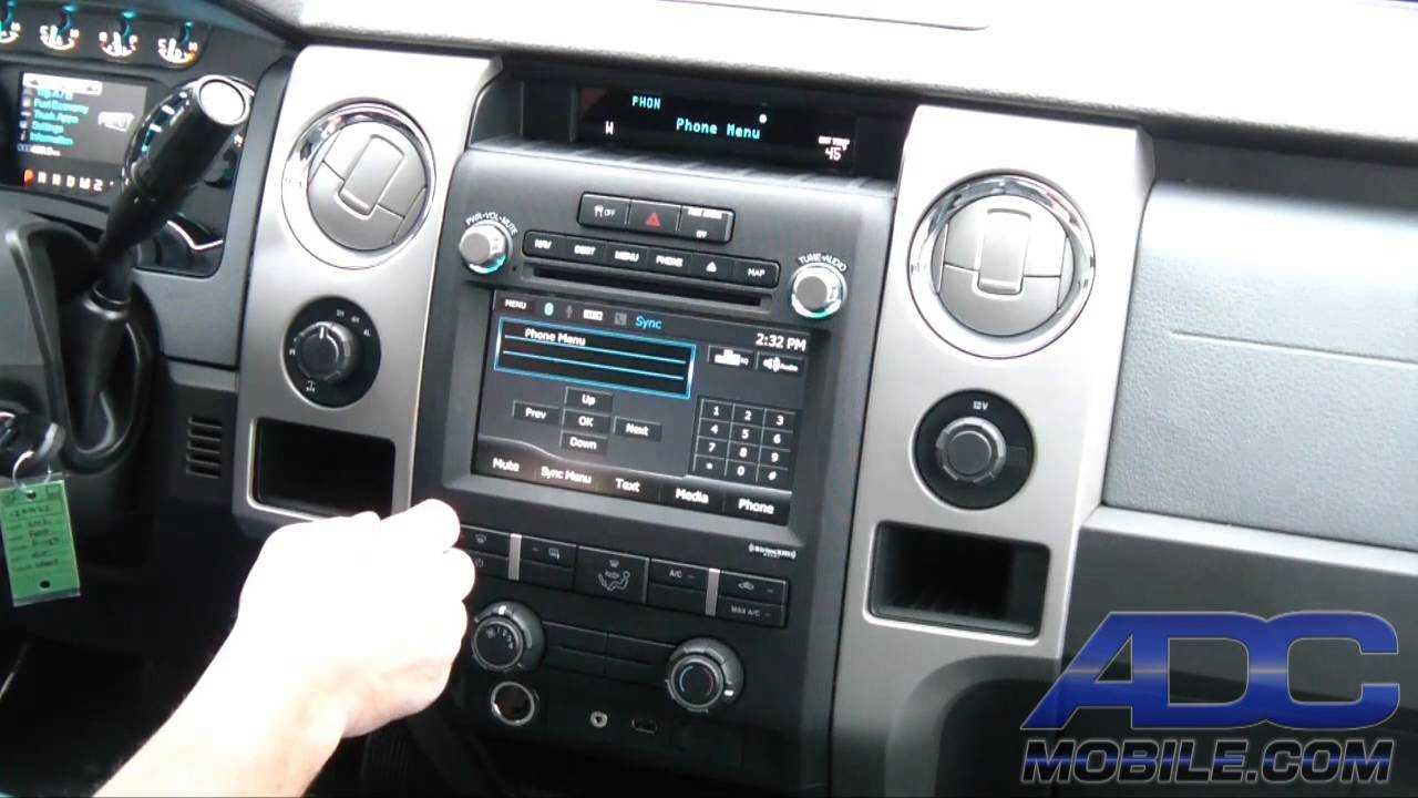 advent oe navigation for ford f 150 sync operation youtube. Black Bedroom Furniture Sets. Home Design Ideas