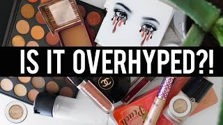 OVERHYPED Or WORTH THE HYPE?!: My Take On POPULAR Makeup | Jamie Paige